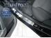 Накладки на пороги Hyundai i40 /2011+/. Накладки порогов Хюндай i40 [Alu-Frost]