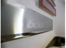 Накладки на пороги Hyundai ix35 /2010+/. Накладки порогов Хюндай ix35 [NataNiko]