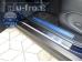 Накладки на пороги Infiniti FX II (S51) /2008-2013/. Накладки порогов Инфинити ФХ [Alu-Frost]