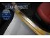 Накладки на пороги Kia Picanto II /2011-2017, 3D/. Накладки порогов Киа Пиканто [Alu-Frost]