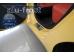 Накладки на пороги Kia Picanto II /2011-2017, Хэтчбек/. Накладки порогов Киа Пиканто [Alu-Frost]