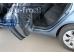 Накладки на пороги Kia Rio III /2011-2016/. Накладки порогов Киа Рио [Alu-Frost]