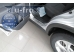 Накладки на пороги Kia Sorento II /2012-2014, FL/. Накладки порогов Киа Соренто [Alu-Frost]
