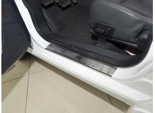 Накладки на пороги MG 350 /2010+/. Накладки порогов МГ 350 [NataNiko]