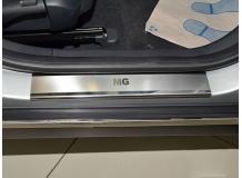 Накладки на пороги MG 550 /2008+/. Накладки порогов МГ 550 [NataNiko]