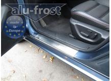 Накладки на пороги Mazda 6 III /2013+/. Накладки порогов Мазда 6 [Alu-Frost]