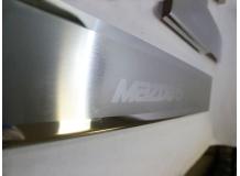 Накладки на пороги Mazda 6 III /2013+/. Накладки порогов Мазда 6 [NataNiko]