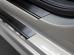 Накладки на пороги Mercedes Sprinter II (W906) /2006-2018/. Накладки порогов Мерседес Спринтер [NataNiko]