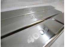 Накладки на пороги Peugeot 4008 /2012+/. Накладки порогов Пежо 4008 [NataNiko]