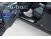Накладки на пороги Subaru Outback IV /2009-2014/. Накладки порогов Субару Аутбек [Alu-Frost]