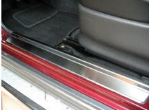 Накладки на пороги Suzuki Jimny III /1998+/. Накладки порогов Сузуки Джимни [NataNiko]