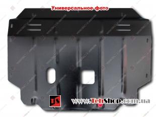 Защита двигателя Honda Pilot II /2013-2015, FL, V3.5/. Защита картера двигателя и КПП Хонда Пилот [Titan]