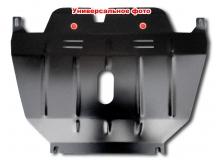 Защита двигателя Porsche Cayenne I /2002-2010/. Защита раздатки Порше Кайен [Titan]
