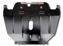 Защита двигателя Chevrolet Captiva /2006-2011/. Защита картера двигателя и КПП Шевроле Каптива [Titan]
