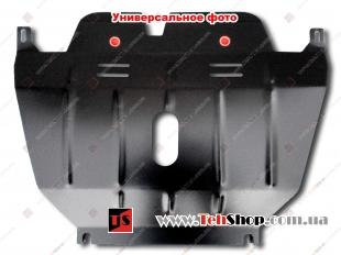 Защита двигателя Lincoln MKX II /2015+, V3.5/. Защита картера двигателя, КПП и радиатора Линкольн МКХ [Titan]