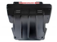Защита двигателя Renault Megane II /дизель, 2002-2008/. Защита картера двигателя и КПП Рено Меган [Titan]