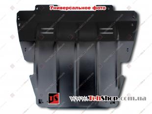Защита двигателя Renault Master III /2010+, с бок. крыльями/. Защита картера двигателя и КПП Рено Мастер [Titan]