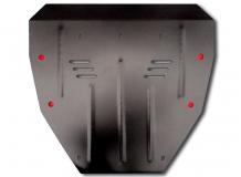 Защита двигателя Acura MDX II /2006-2013/. Защита картера двигателя и КПП Акура МДХ [Titan]
