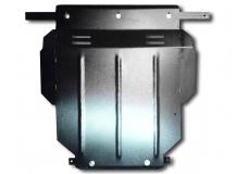 Защита двигателя Audi A3 (8L) /1996-2003, бензин/. Защита картера двигателя и КПП Ауди А3 [Titan]