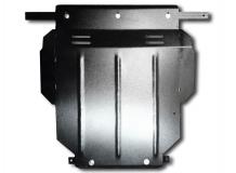 Защита двигателя Audi A3 (8L) /1996-2003, дизель/. Защита картера двигателя и КПП Ауди А3 [Titan]