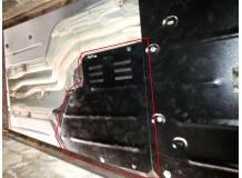 Защита двигателя BMW 5 (E60/E61) /2003-2010, задний привод/. Защита АКПП (коробки передач) БМВ 5 [Titan]