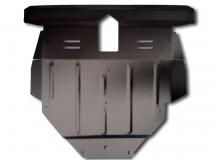 Защита двигателя BYD F3 I /2005+/. Защита картера двигателя и КПП БИД Ф3 [Titan]