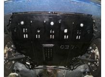 Защита двигателя Chery Amulet (A15) /2012+, V1.5, FL/. Защита картера двигателя и КПП Чери Амулет [Titan]
