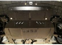 Защита двигателя Chery Beat /2009-2014/. Защита картера двигателя и КПП Чери Бит [Titan]