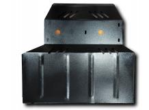 Защита двигателя Chery Jaggi /V0.8, V1.1, 2006+/. Защита картера двигателя и КПП Чери Джагги [Titan]