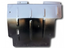 Защита двигателя Dodge Caliber /2006-2012/. Защита картера двигателя и КПП Додж Калибер [Titan]