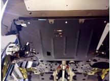 Защита двигателя Fiat 500L /2012+/. Защита картера двигателя и КПП Фиат 500Л [Titan]