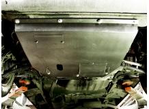 Защита двигателя Fiat Ducato II /1994-2006/. Защита картера двигателя и КПП Фиат Дукато [Titan]