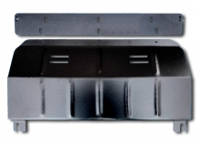Защита двигателя Fiat Scudo II /2007-2016/. Защита картера двигателя и КПП Фиат Скудо [Titan]