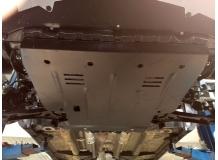 Защита двигателя Fiat Sedici /2005-2014/. Защита картера двигателя и КПП Фиат Седичи [Titan]