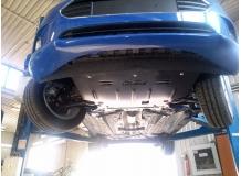 Защита двигателя Ford B-Max /2012+/. Защита картера двигателя и КПП Форд Би-Макс [Titan]