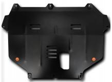 Защита двигателя Ford C-Max II /2010+/. Защита картера двигателя и КПП Форд Ц-Макс [Titan]