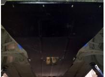 Защита двигателя Ford Explorer V /V3.5 EcoBoost, 2011+/. Защита картера двигателя и КПП Форд Эксплорер [Titan]