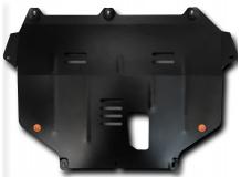 Защита двигателя Ford Focus III /2011+/. Защита картера двигателя и КПП Форд Фокус [Titan]