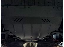 Защита двигателя Ford Focus III /с балкой, 2011+/. Защита картера двигателя и КПП Форд Фокус [Titan]