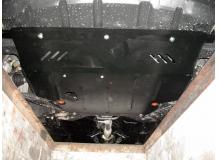 Защита двигателя Geely Emgrand 7 (EC7) /2009+/. Защита картера двигателя и КПП Джили Эмгранд 7 [Titan]