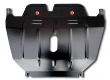 Защита двигателя Geely Emgrand X7 /2013+/. Защита картера двигателя и КПП Джили Эмгранд Х7 [Titan]