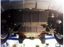 Защита двигателя Great Wall Haval H5 /2010+/. Защита КПП (коробки передач) и раздатки Грейт Вол Хавал Н5 [Titan]