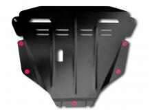 Защита двигателя Honda CR-V III /2007-2012, V2.0/. Защита картера двигателя и КПП Хонда ЦР-В [Titan]