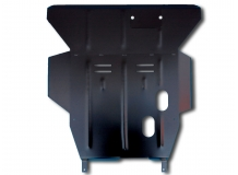 Защита двигателя Honda Civic V /1991-1996/. Защита картера двигателя и КПП Хонда Цивик [Titan]