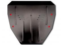 Защита двигателя Honda Pilot II /2008-2012/. Защита картера двигателя и КПП Хонда Пилот [Titan]