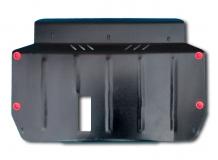Защита двигателя Hyundai Accent III (MC) /2006-2010/. Защита картера двигателя и КПП Хюндай Акцент [Titan]