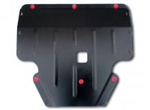 Защита двигателя Hyundai i20 I /2008-2014/. Защита картера двигателя и КПП Хюндай i20 [Titan]