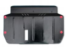 Защита двигателя Kia Rio II /2005-2011/. Защита картера двигателя и КПП Киа Рио [Titan]
