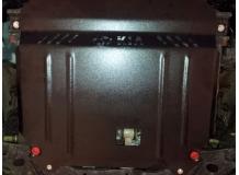 Защита двигателя Kia Rio III /2011-2016, Рос. сб./. Защита картера двигателя и КПП Киа Рио [Titan]