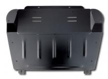 Защита двигателя Lexus RX II (RX400h) /2005-2008/. Защита картера двигателя и КПП Лексус РХ [Titan]